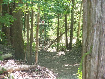 Joralemon Park, Main course, Hole 5 Putt