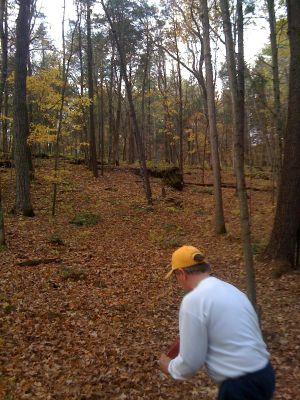 Joralemon Park, Main course, Hole 18 Midrange approach