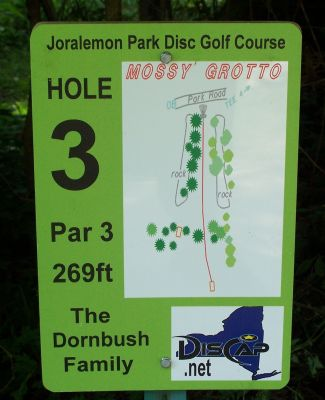 Joralemon Park, Main course, Hole 3 Tee pad