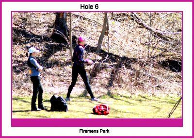 Firemen's Park DGC, Main course, Hole 6