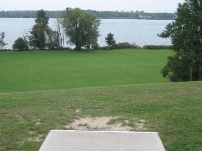 Beaver Island State Park, Main course, Hole 4 Middle tee pad