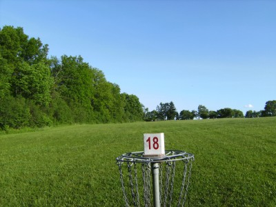Jamesville Beach, Main course, Hole 18 Reverse (back up the fairway)