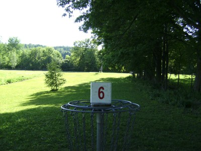 Jamesville Beach, Main course, Hole 6 Reverse (back up the fairway)
