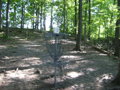 Jamesville Beach, Main course, Hole 10 Reverse (back up the fairway)