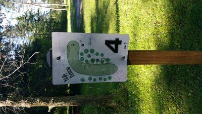 Como Lake Park, Main course, Hole 4 Tee pad