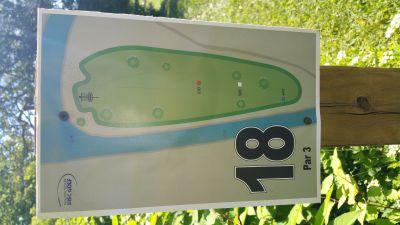 Como Lake Park, Main course, Hole 18