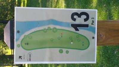 Como Lake Park, Main course, Hole 13
