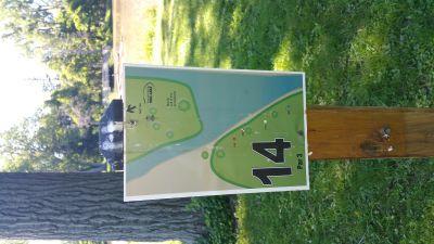 Como Lake Park, Main course, Hole 14
