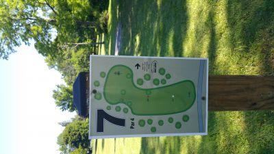 Como Lake Park, Main course, Hole 7 Tee pad