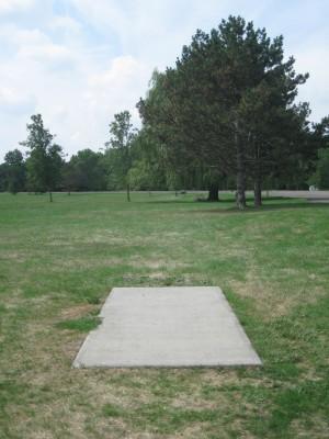 Joseph Davis State Park, Main course, Hole 10 Tee pad