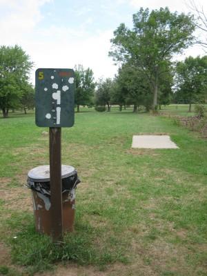 Joseph Davis State Park, Main course, Hole 5 Tee pad