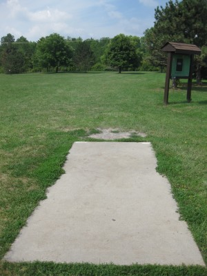 Joseph Davis State Park, Main course, Hole 1 Tee pad