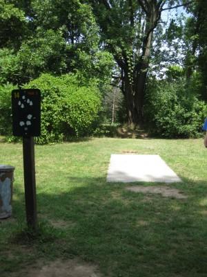 Joseph Davis State Park, Main course, Hole 14 Tee pad