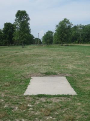 Joseph Davis State Park, Main course, Hole 8 Tee pad