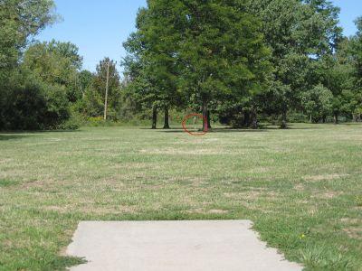 Joseph Davis State Park, Main course, Hole 26 Middle tee pad