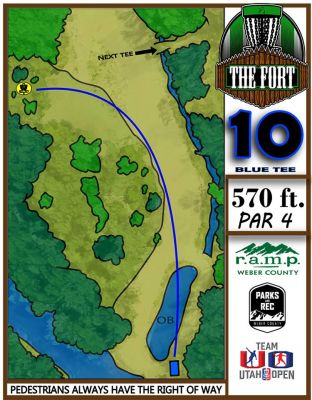 Fort Buenaventura, The Fort, Hole 10 Middle tee pad