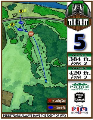 Fort Buenaventura, The Fort, Hole 5 Hole sign