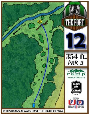 Fort Buenaventura, The Fort, Hole 12 Hole sign