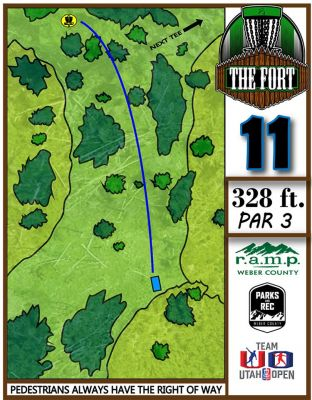 Fort Buenaventura, The Fort, Hole 11 Hole sign