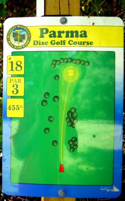 Parma, Main course, Hole 18 Hole sign