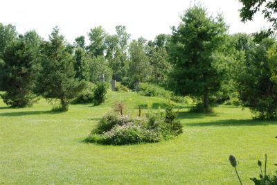 Baker Farm, Main course, Hole 8 Long tee pad