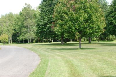 Churchville Park, Main course, Hole 7 Tee pad