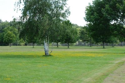 Churchville Park, Main course, Hole 1 Tee pad