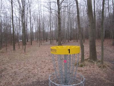 Basil Marella Park, Main course, Hole 1 Reverse (back up the fairway)