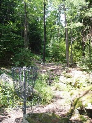 Hyzer Creek, Main course, Hole 3 Reverse (back up the fairway)