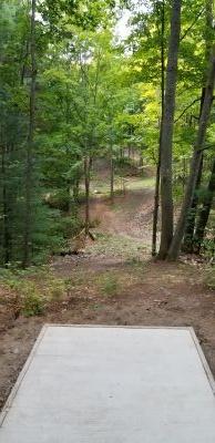 Hickory Hills, South, Hole 9 Tee pad