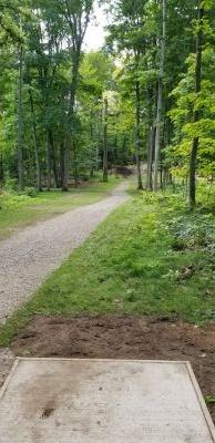 Hickory Hills, South, Hole 1 Tee pad
