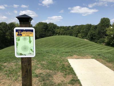 South Fork Park, Main course, Hole 5 Hole sign