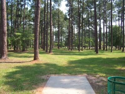 Georgia SouthWestern, Main course, Hole 1 Tee pad