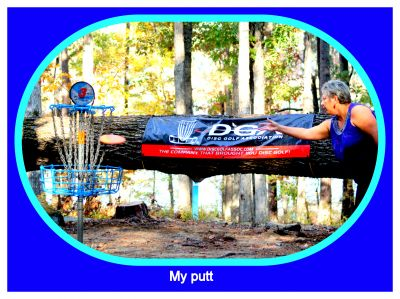 International Disc Golf Center, Steady Ed Headrick Memorial, Hole 3 Putt