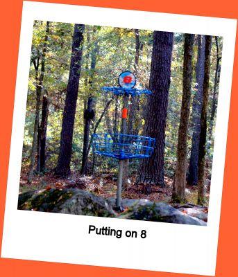 International Disc Golf Center, Steady Ed Headrick Memorial, Hole 8 Putt