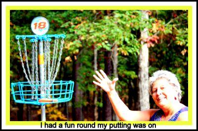 International Disc Golf Center, Steady Ed Headrick Memorial, Hole 18 Putt