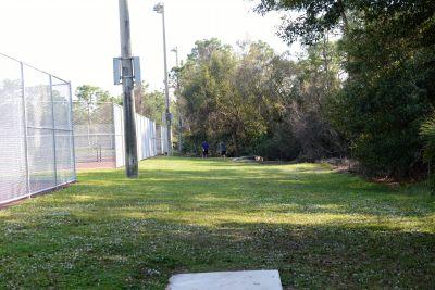 Halpatiokee Regional Park, Main course, Hole 2 Short tee pad