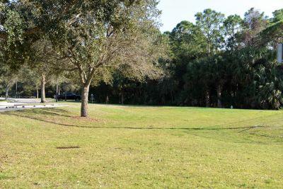 Halpatiokee Regional Park, Main course, Hole 3 Short tee pad