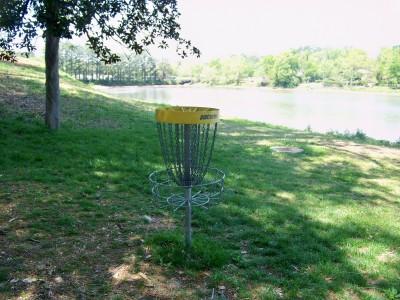 Lake Olmstead Park, Main course, Hole 15 Putt