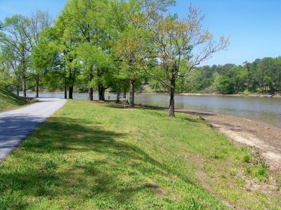 Lake Olmstead Park, Main course, Hole 11 Midrange approach