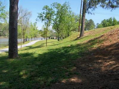 Lake Olmstead Park, Main course, Hole 6 Midrange approach