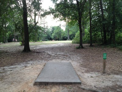 Pendleton King Park, Main course, Hole 17 Tee pad