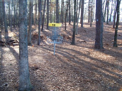 Herman C. Michael Park, Main course, Hole 13 Putt