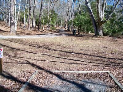 Meeks Park, Main course, Hole 17 Long tee pad