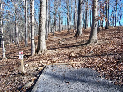 Meeks Park, Main course, Hole 13 Long tee pad