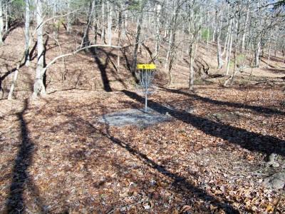 Meeks Park, Main course, Hole 9 Putt