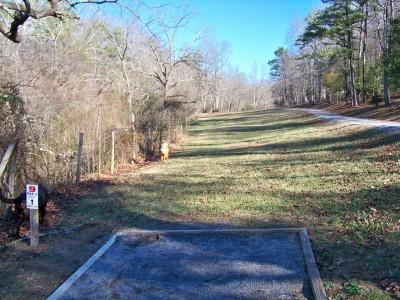 Meeks Park, Main course, Hole 9 Long tee pad