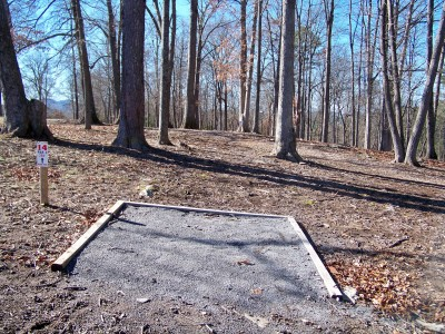 Meeks Park, Main course, Hole 14 Long approach