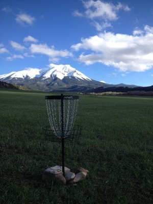 Wahatoya Valley Disc Golf and Trail, Main course, Hole 2 Putt
