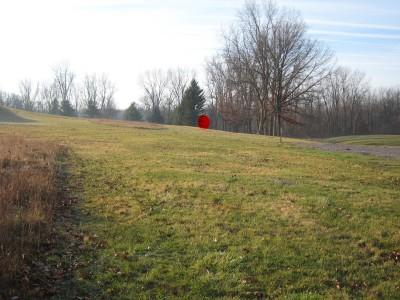 Heritage Park, Heritage Park DGC, Hole 4 Long tee pad